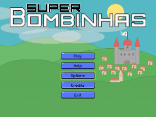 Super Bombinhas title screen.png